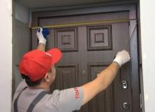 Как выполнить отделку откосов входной двери своими руками?