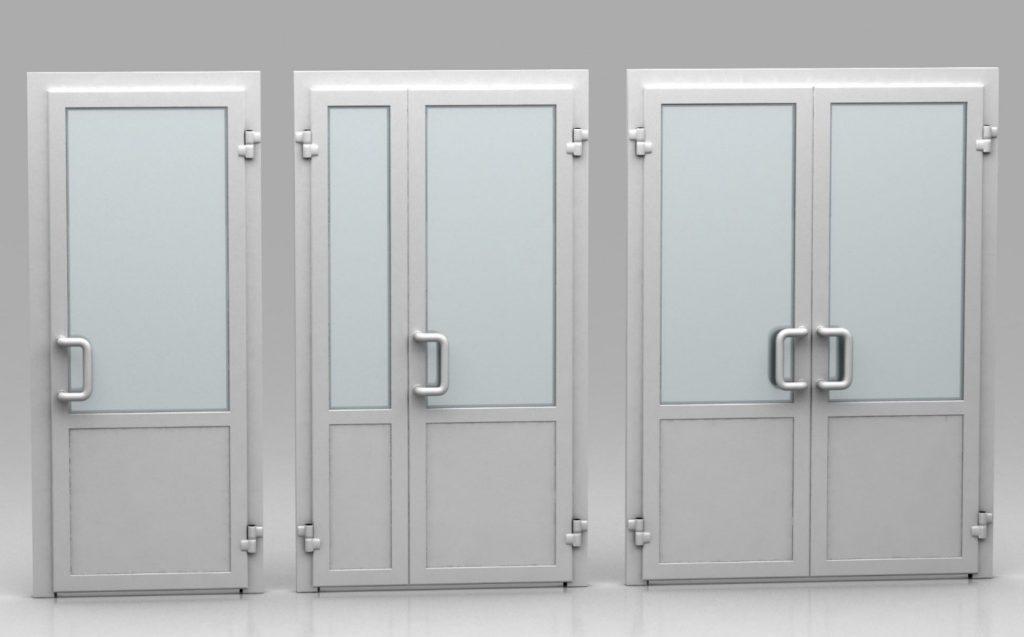Преимущества офисных дверей из алюминия и его особенности