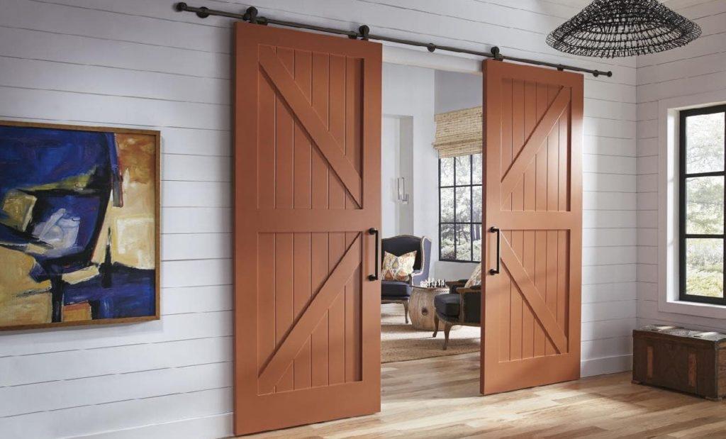 Фото деревянных дверей - выбирай по душе