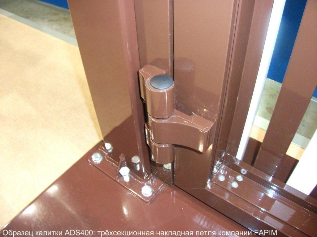 Петли для алюминиевых дверей и способы установки