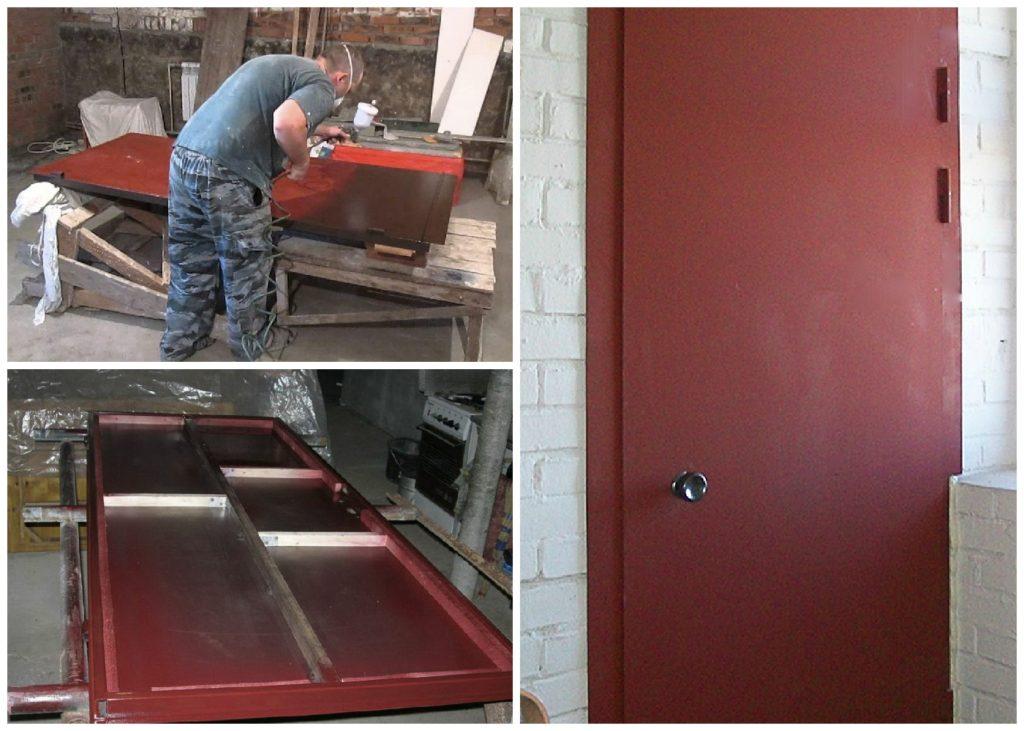 Оптимальная краска для металлических дверей вашего дома - гарантия уюта и безопасности вашего дома