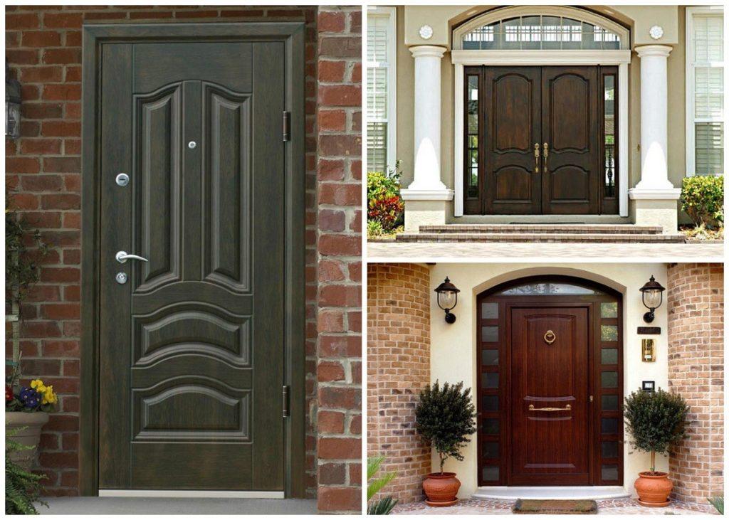 Двери металлические входные уличные