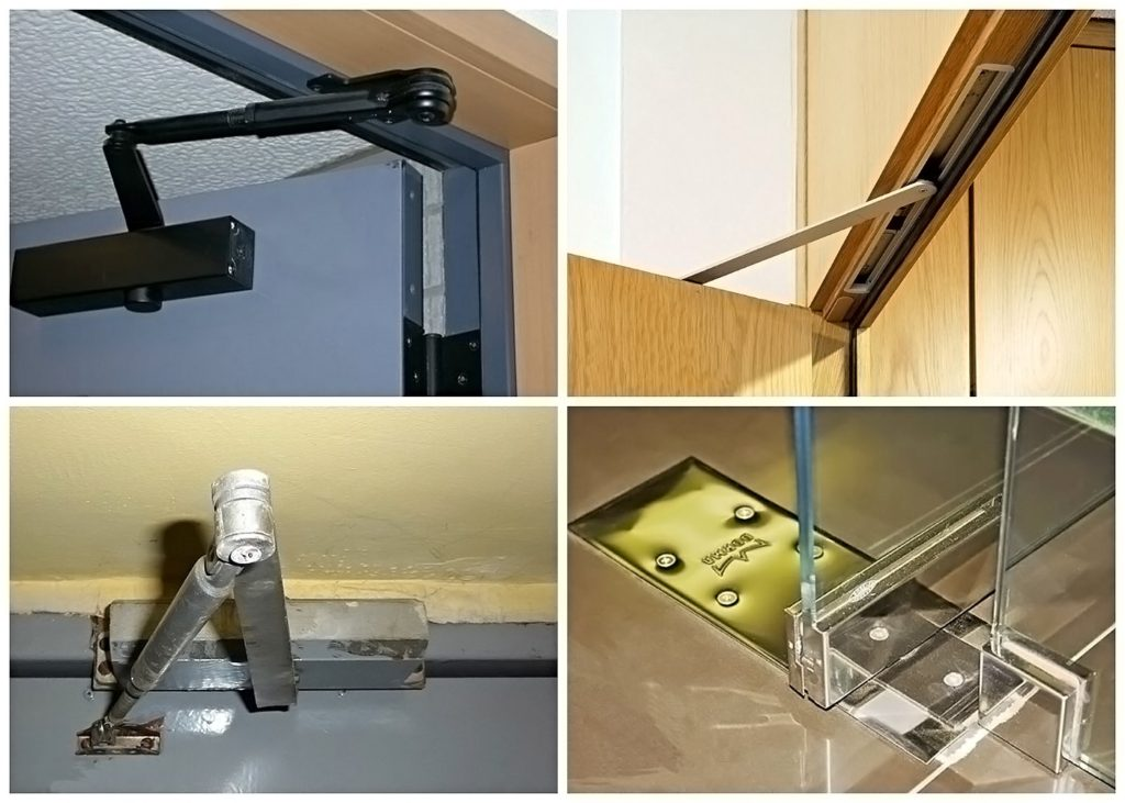 Установка доводчика на металлическую дверь