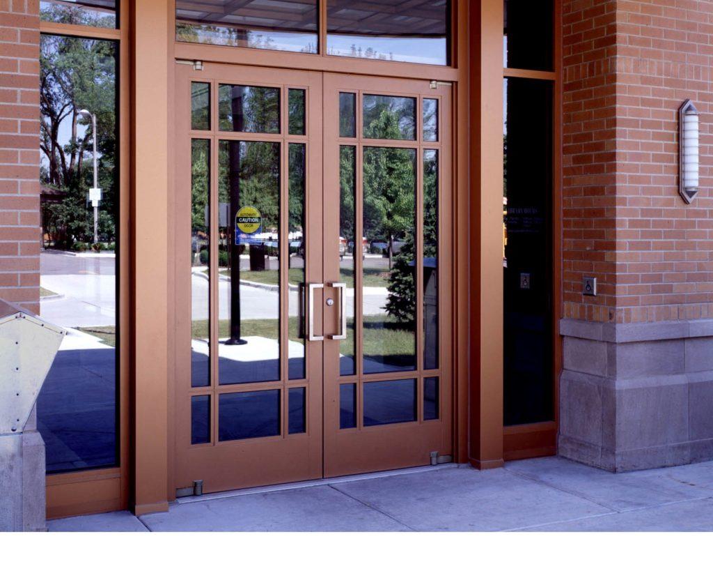 Как выбрать Алюминиевые двери