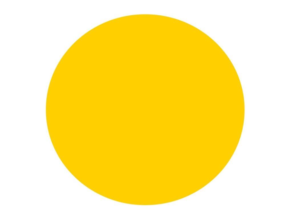 Желтые круги на стеклянных дверях - берегите голову
