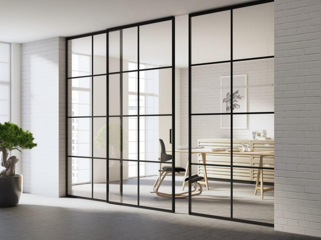 Раздвижные стеклянные двери - надежная фурнитура!