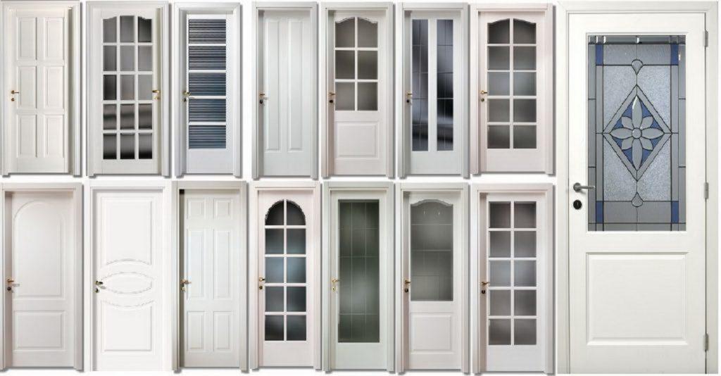 Пластиковые двери 800х2000