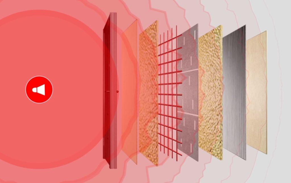 Звукоизоляция межкомнатных дверей