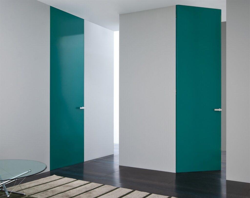 Двери без наличников со скрытым коробом