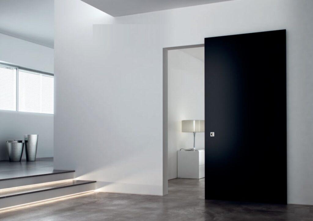 Дверь раздвижная межкомнатная со скрытым механизмом
