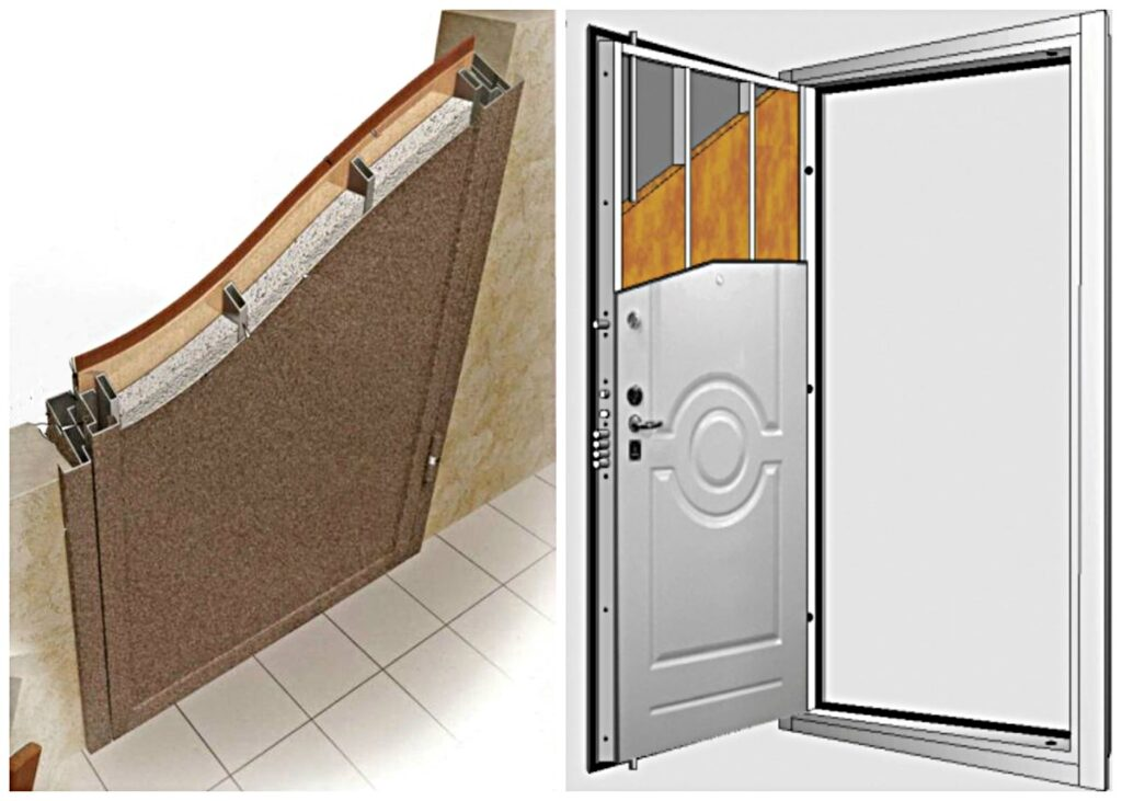 Бронированная дверь