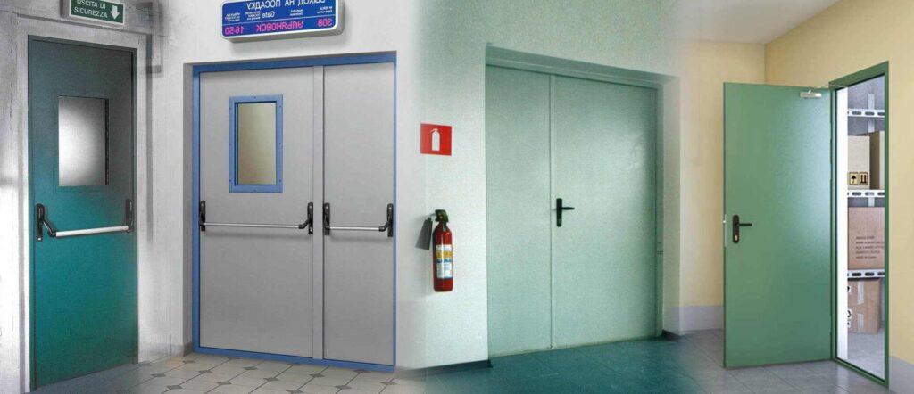 Двери ПВХ противопожарные
