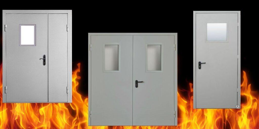 Требования к противопожарным дверям