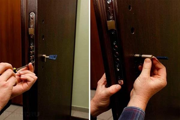 Вставить ключ